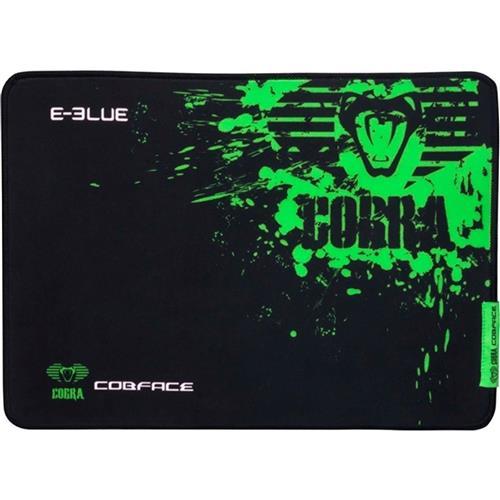Mouse Pad Gamer Cobra S Preto E Verde E-Blue