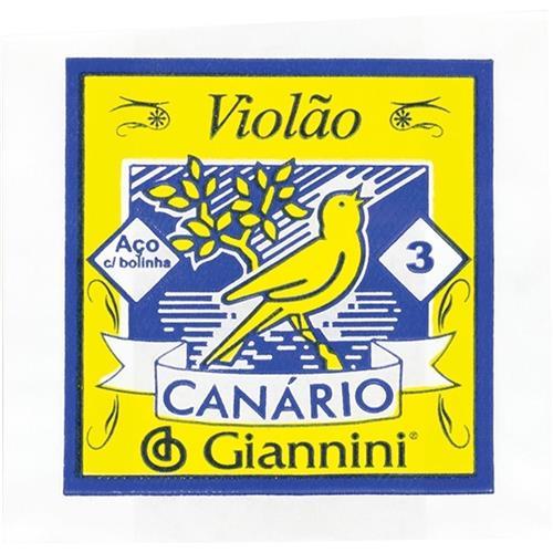 Corda Aço Violão Bolinha 12Un Geswb3-Sol Giannini