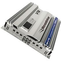 Amplificador Mosfet Classe Ab 2000W Rsv12 Prata Roadstar