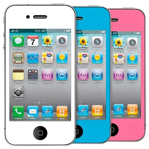 Protetores Premium Iphone 4/4S Coloridos Dgipod1578 Isound