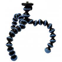 Tripé Gorillapod Flexível Azul Preto Emborrachado Gp1-Bbam Joby