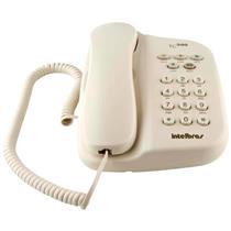 Telefone com Fio e Chave de Bloqueio Pérola TC500 Intelbras