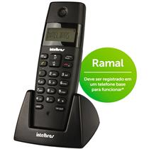 Telefone Ramal Sem Fio Dect 6.0 Ts 40 Preto Ts40r Intelbras
