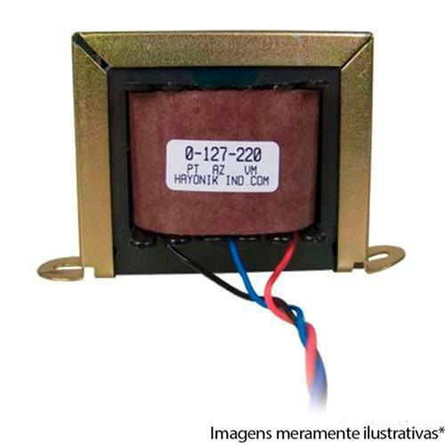 Transformador  370Ma 11.1Va 15+15Vac 127-220Vac 15-1 Hayonik
