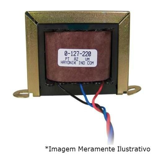 Transformador 330Ma 3.96Va 12Vac 127-220Vac 12-500S Hayonik