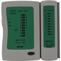Testador De Cabos De Rede Rj-11 E Rj-45 Até 300M Tcl-101 Hyx