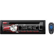 Auto Rádio 23W Usb Com Conector Iso Preto Kdr459 Jvc