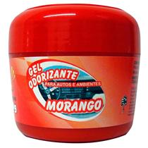 Gel Odorizador Automotivo 60G Morango Goam Sun Car