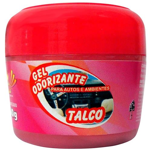 Gel Odorizador Automotivo 60G Talco Goa60t Sun Car