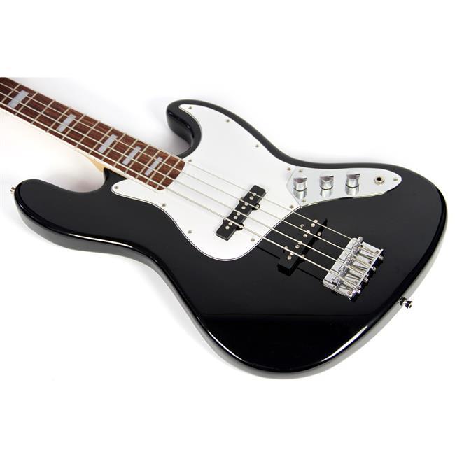Circuito Eletrico Jazz Bass : Contra baixo elétrico cordas jazz bass aubcb auburn