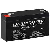 Bateria Faston F187 Chumbo Ácido 6 V 1.3 Ah Up613 Unipower