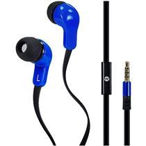 Fone De Ouvido Headset 50Mw Plug P2 Azul Vbass V4 Vinik