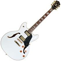 Guitarra Washburn Semi-acústica Hb35wh Branca