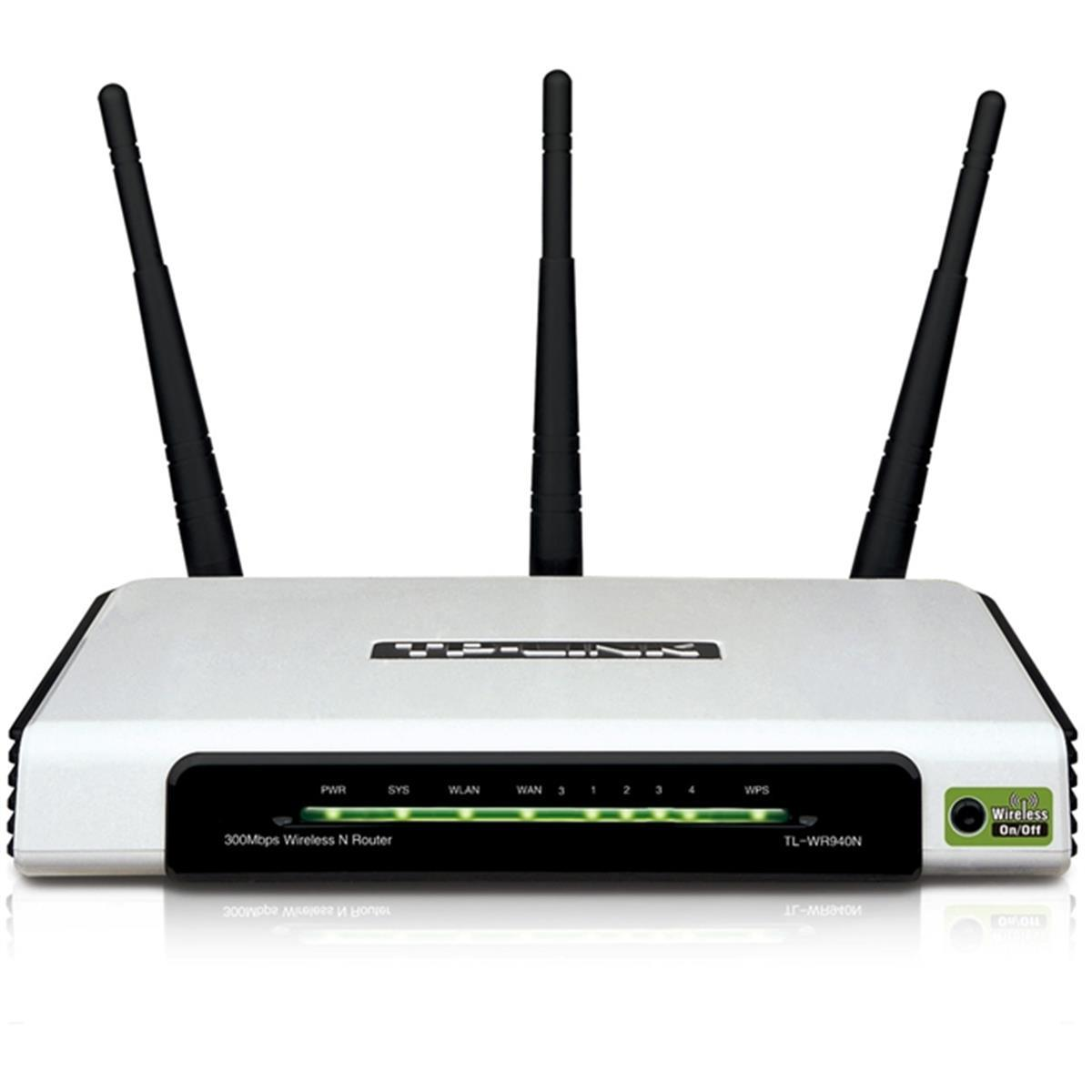 Roteador Wireless N 300Mbps 3 Antenas Wifi Tp - Link