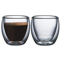 Xícaras Para Café Sem Alça 2 Peças Vidro 64760400 Tramontina