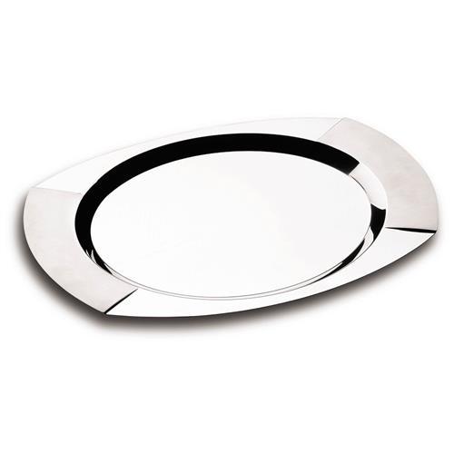 Bandeja Oval De Aço Inox 61202500 Tramontina