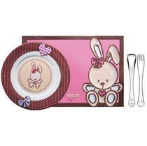 Kit Infantil  Le Petit Feminino 4 Peças 64250685 Tramontina