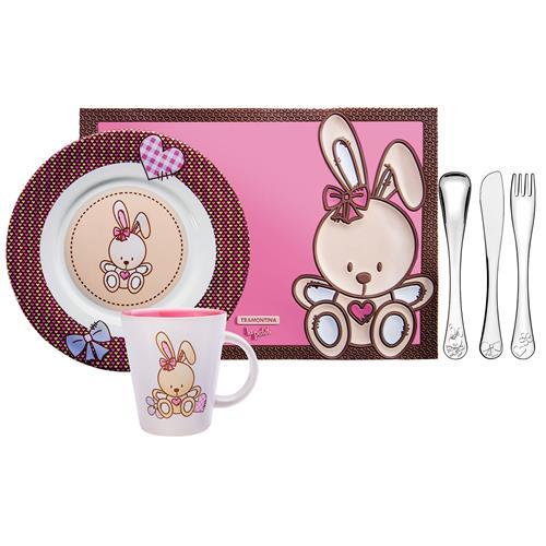 Kit Infantil Feminino Le Petit 6 Peças 64250675 Tramontina
