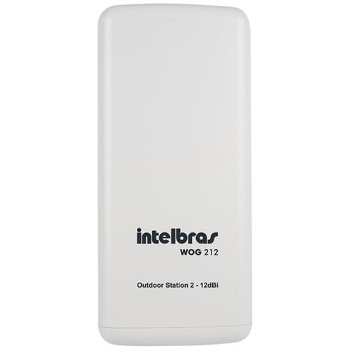 Outdoor Station 2 54 Mbps 12Dbi Wog-212 Intelbras