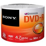 Dvd-R Printable 120 Min 4.7Gb 16X 50 Unidades Sony