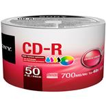 Cd-R Bulk Printable 80Min 700Mb 48X 50 Unidades Sony