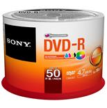Dvd-R Accucore 120Min 4.7Gb 16X Com 50 Unidades Sony