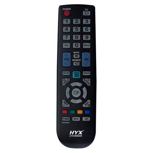 Controle Remoto Para TV LCD Samsung Preto CTV-SMG03 Hyx