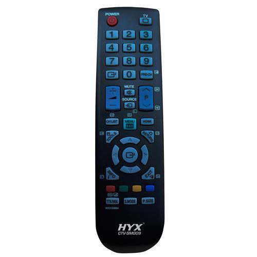 Controle Remoto Para Tv Lcd Samsung Preto Ctv-Smg09 Hyx