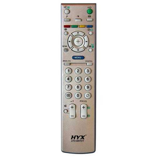 Controle Remoto Para Tv Lcd Sony Prata Ctv-Sny01 Hyx