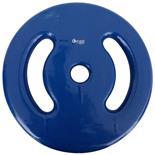 Anilha Revestida De 1 Kg Cor Azul Para Musculação Dream