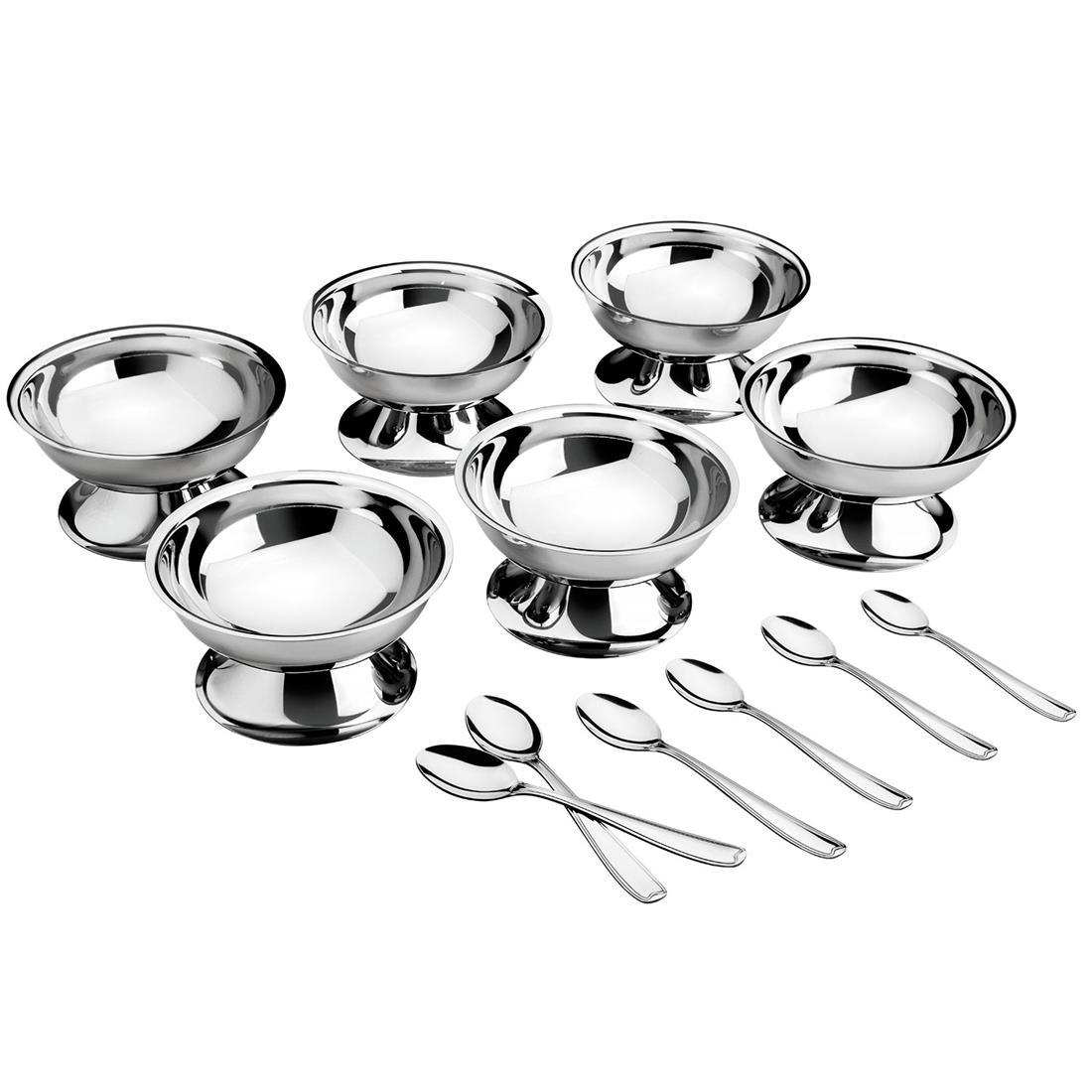 Kit Para Sobremesa 12 Peças Aço Inox 64400710 Tramontina