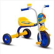 Triciclo Infantil Masculino Com Buzina E Paralama Azul Nathor