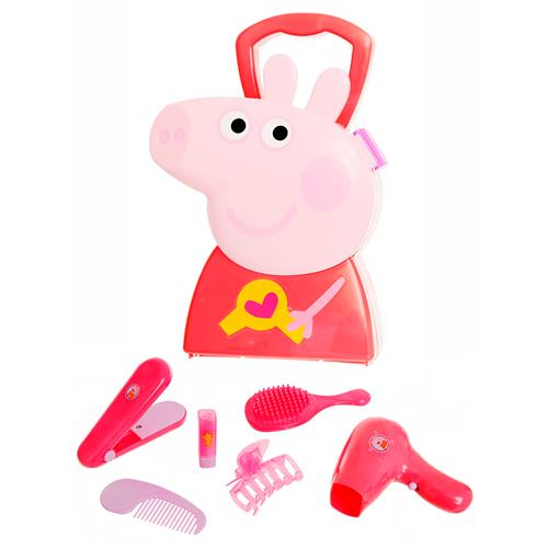 Maleta De Cabeleireiro Plástico Peppa Pig Br197 Multikids