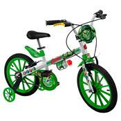 Bicicleta Infantil 16Pol Avengers Hulk 2422 Bandeirante