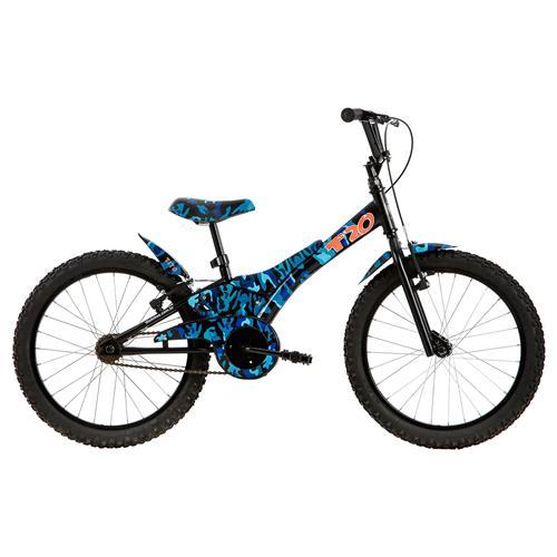 Bicicleta Camuflada Azul T20 Aro Em Alumínio Tito Bikes