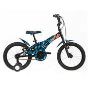 Bicicleta T16 Infantil Camuflada Azul Vbrake Tito Bikes