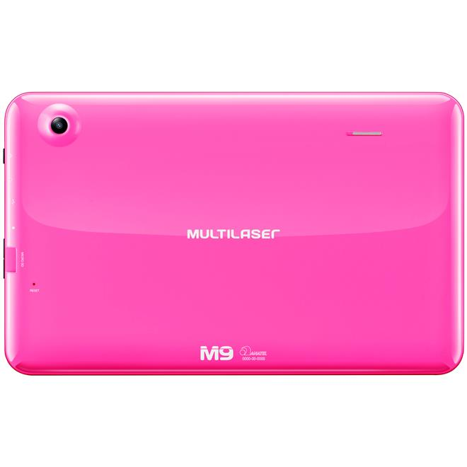 Tablet M9 Quad Core Android 4.4 Rosa Nb174 Multilaser ...