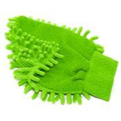 Luva Dupla Para Lavagem E Polimento Em Microfibra Au309 Multilaser