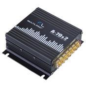 Amplificador Elétrico De Audiofrequência 2X 35W Au902 Multilaser