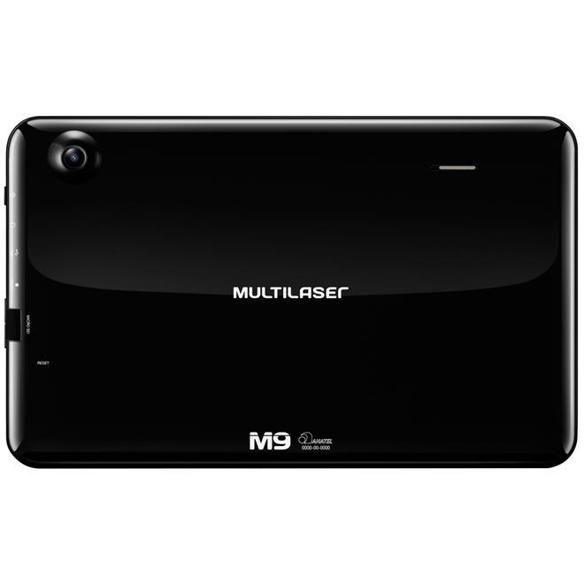 Tablet M9 9Pol 8Gb Quad Core Wi-Fi Preto Nb172 Multilaser ...