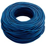 Cabo De Rede 100 Metros Cat5e Bulk Azul Wi266 Multilaser