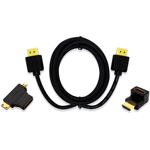 Kit Cabo Hdmi Adaptador T + L E Micro Hdmi Wi289 Multilaser