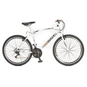 Bicicleta Mtb Cb 500 Aro 26 21 Marchas Branca Colli