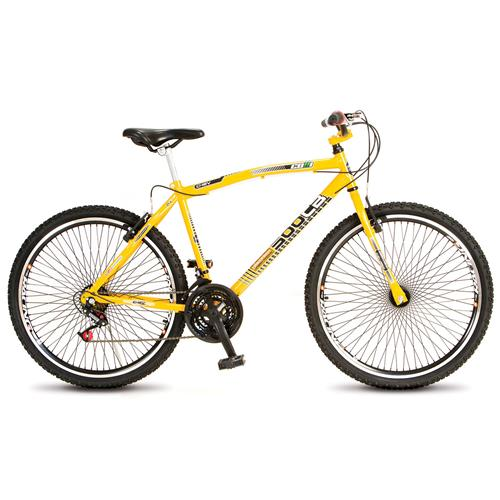 Bicicleta Mtb Cb 500 Aro 26 Aero 21 Marcha Amarela Colli