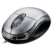 Mouse Óptico Classic 800Dpi Usb Prata Mo006 Multilaser