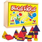 Jogo Blocos Lógicos De Madeira 48 Peças 1036 Ciabrink
