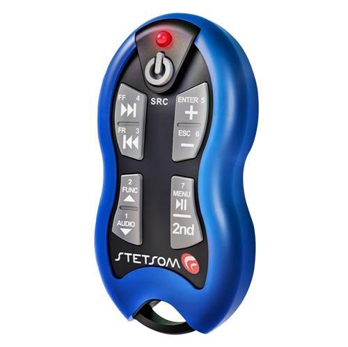 Controle Azul 16 Funções 500 Mts Com Receptor Sx2 Stetsom