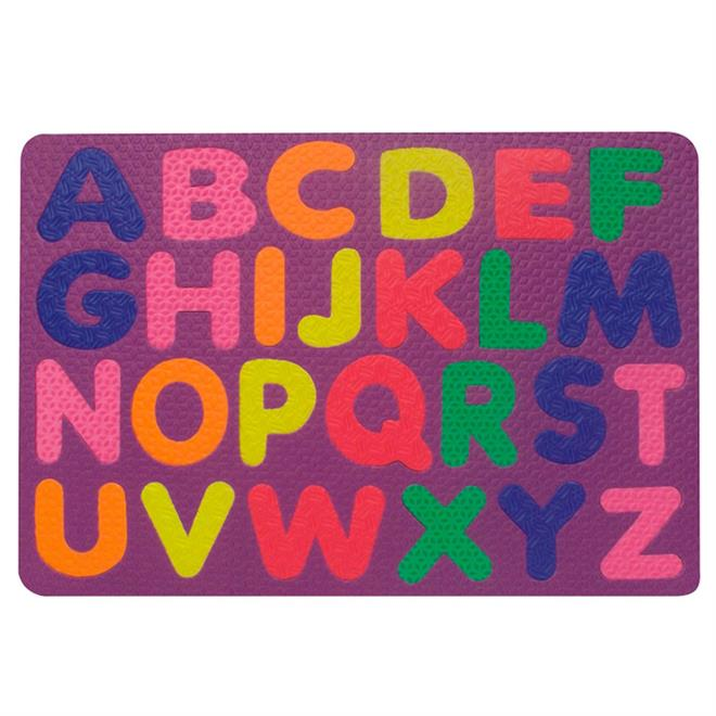 Jogo De Encaixe O Alfabeto Em E.V.A 26 Peças 1086 Ciabrink