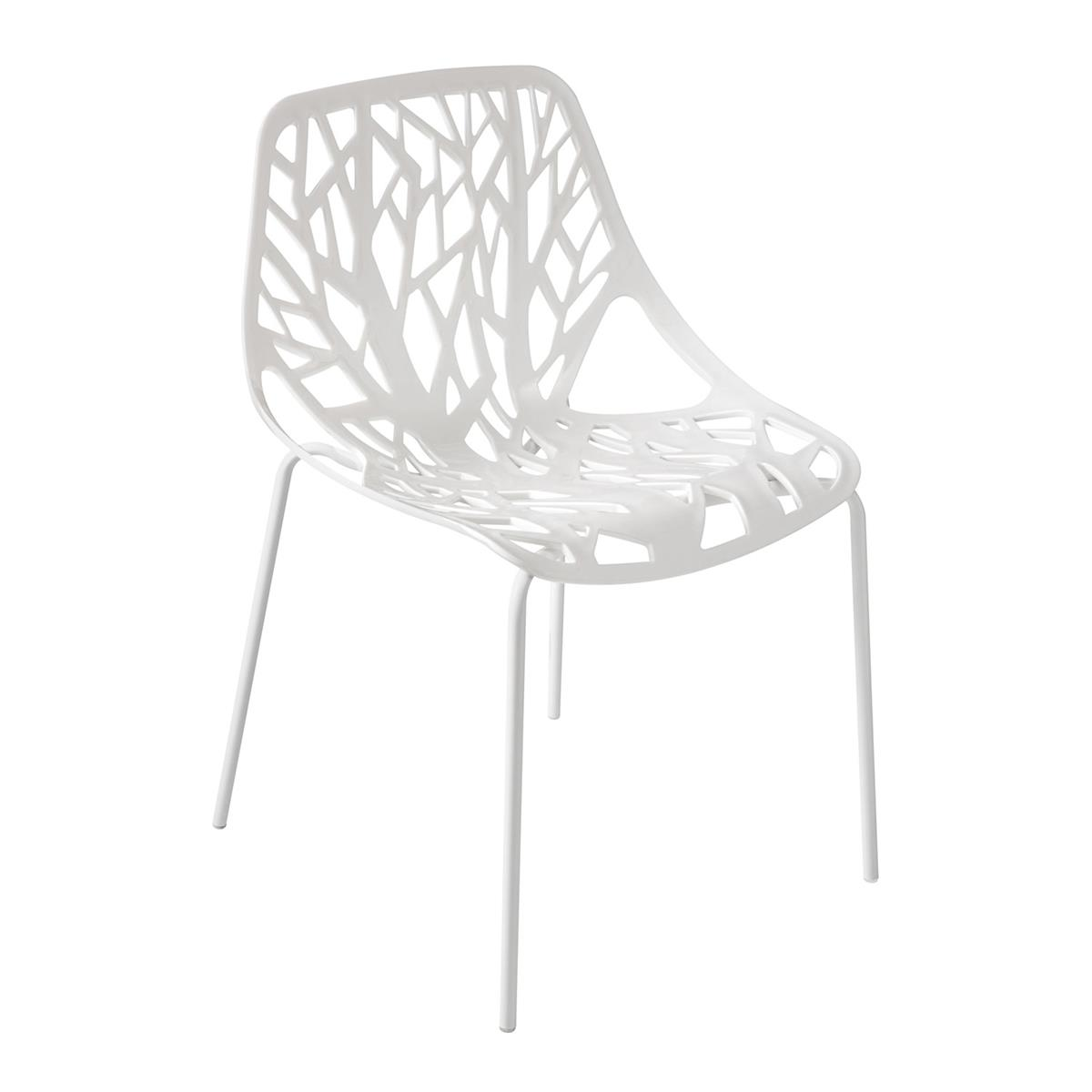 Cadeira Modelo Consuelo Polipropileno Branca Cadcon By Haus