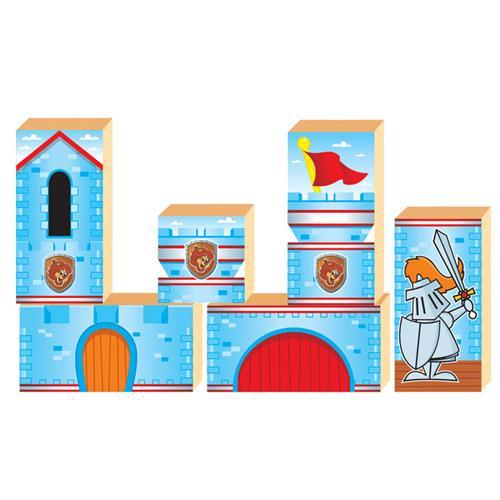 Jogo Pequeno Construtor Castelo Medieval 60 pçs 1471 Ciabrink